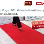 cws RiNo Logoschmutzfangmatten